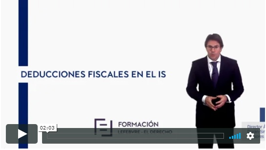 Deducciones aplicables en la cuota del IS (E-Learning)
