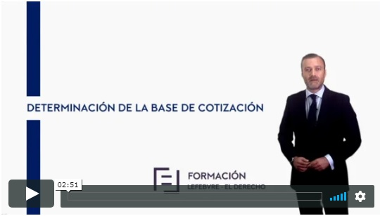 Determinación de la base de cotización (E-Learning)